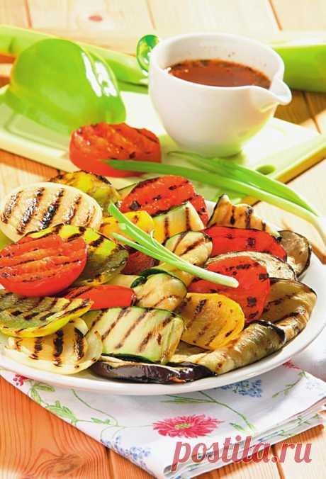 Рецепты блюд из овощей: готовим на костре или мангале