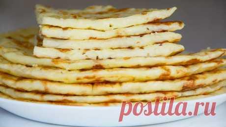 Сырные лепешки, которые съедаются, не успевая остыть!