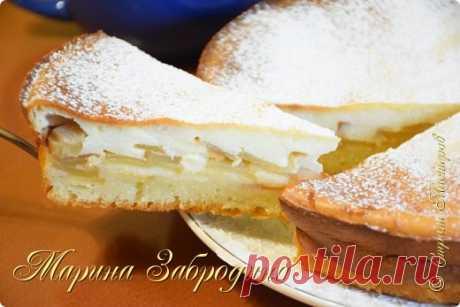Пирог с ТВОРОГОМ и Яблоками ✧ Тает во рту! | Страна Мастеров