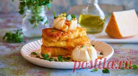 Пшенная каша с яйцом-пашот и сыром - Образованная Сова
