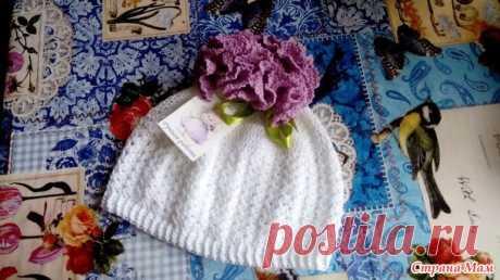 летняя шапочка - Вязание - Страна Мам