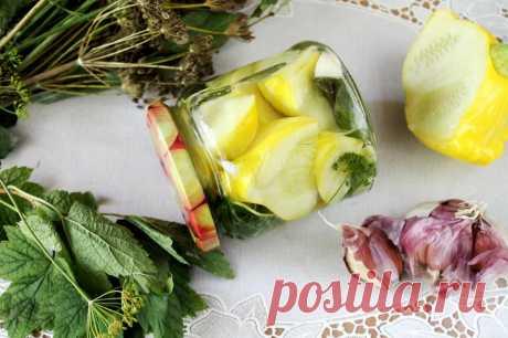 Патиссоны маринованные на зиму рецепт с фото пошагово - 1000.menu