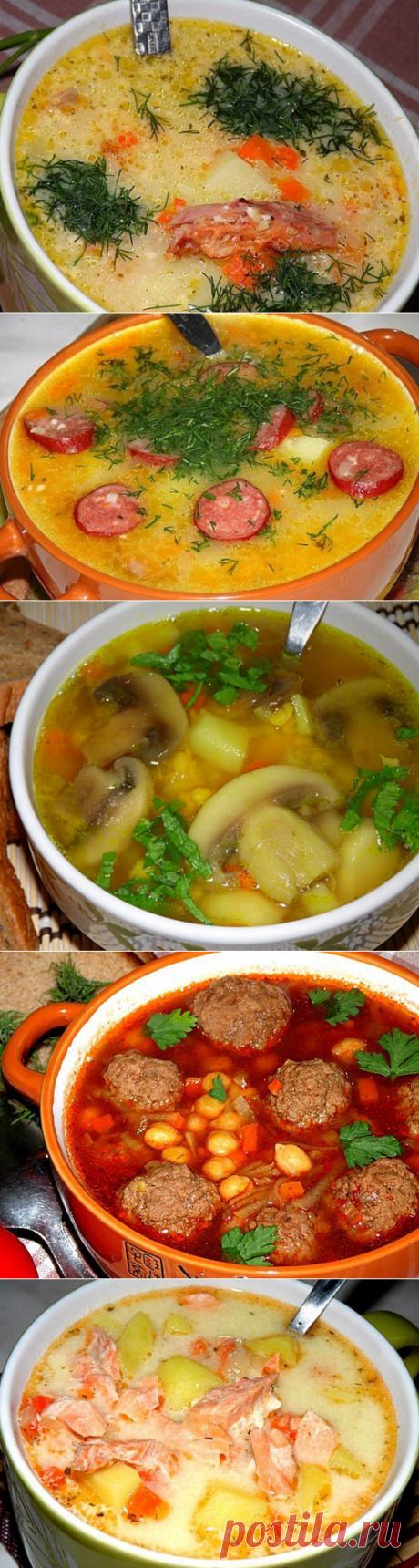 10 простых, но невероятно вкусных супов, которые должны быть в арсенале каждой домохозяйки