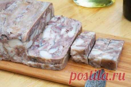 Сальтисон по-украински в желудке, рецепт с фото   Вкусные кулинарные рецепты