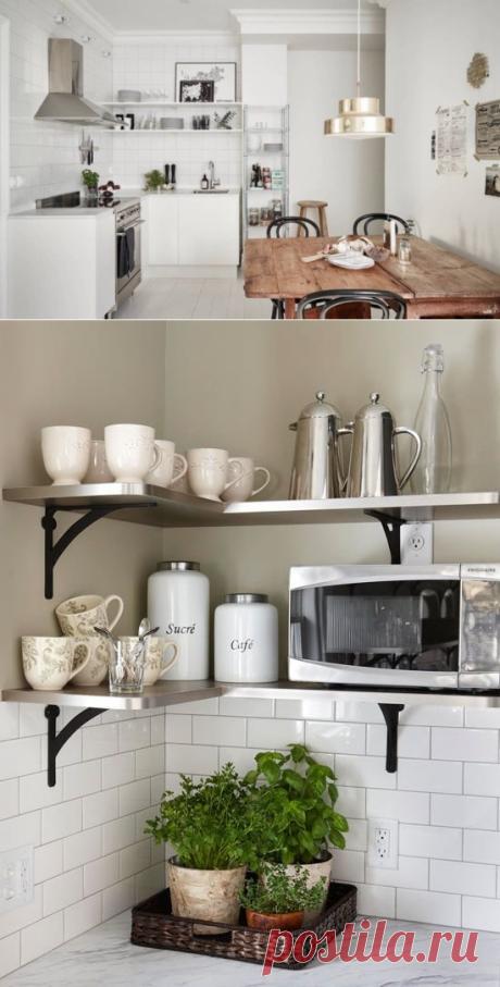 10 мест хранения на кухне, о которых вы не знали или забыли | Свежие идеи дизайна интерьеров, декора, архитектуры на INMYROOM