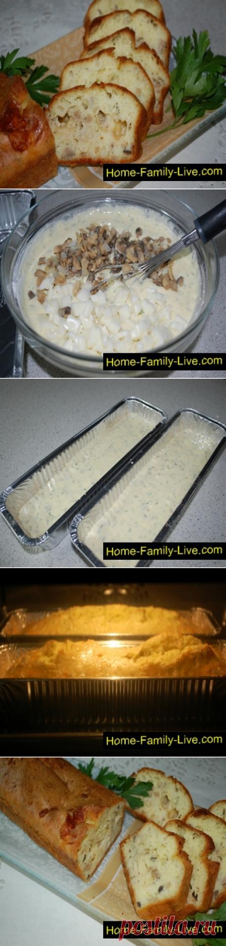 Паштида с грибами и сыром/Сайт с пошаговыми рецептами с фото для тех кто любит готовить