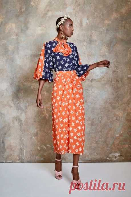 Duro Olowu Spring 2021 Ready-to-Wear collection, runway looks, beauty, models, and reviews.