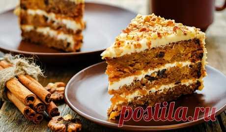 Морковный торт | Перекрёсток