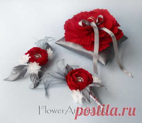 Groom Boutonniere Buttonhole Lapel Flower Groomsman