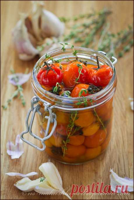 Карамелизованные помидоры черри - Ушки на Макушке — ЖЖ