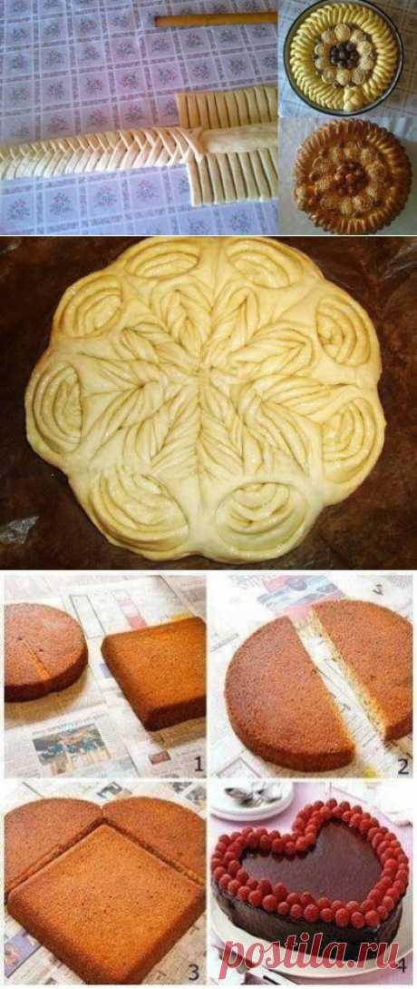 Оформление пирогов (идеи из инета) / Болталка / Кулинария