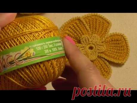 Let's create beauty together))) Beautiful florets a hook))) - Knitting - the Country of Mothers
