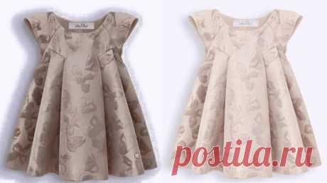 Платье для девочки.Выкройка — размеры от 1 года до 14 лет (Шитье и крой) | Журнал Вдохновение Рукодельницы