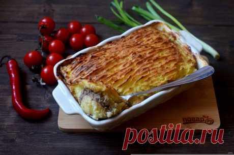 Картофельная запеканка как в детском саду - пошаговый рецепт с фото на Повар.ру