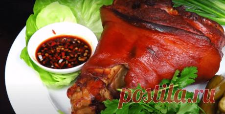Свиная рулька в духовке - Рецепт запеченной свиной рульки с фото