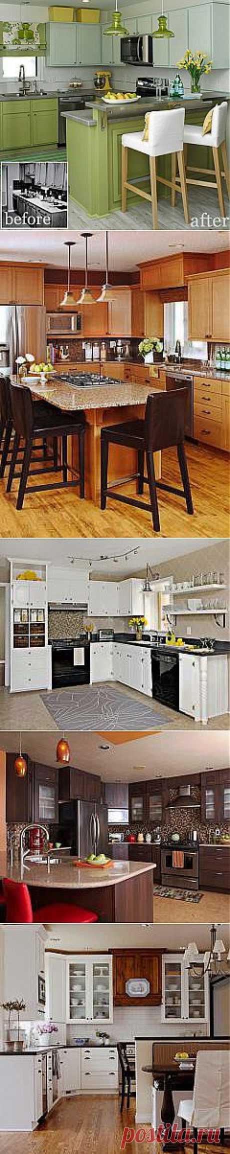 Идеи обновления кухонь | Школа Ремонта