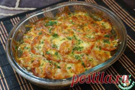 Запеканка с отбивными и баклажанами Кулинарный рецепт