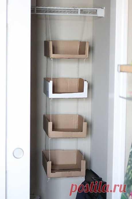 Что можно сделать из пустых картонных коробок / Я - суперпупер