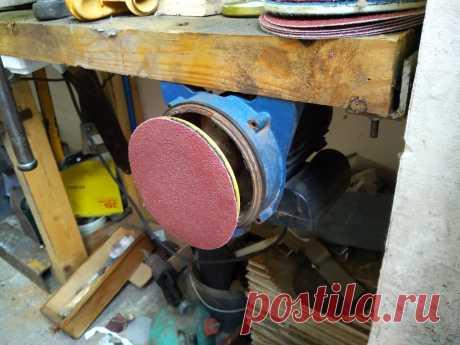Показываю свой самодельный шлифовальный станок из двигателя от старого насоса | Сделай Самоделку | Яндекс Дзен