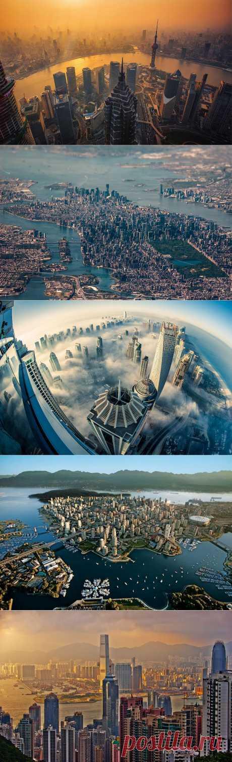 40 впечатляющих городских панорам (часть 1)   The Travel Watch