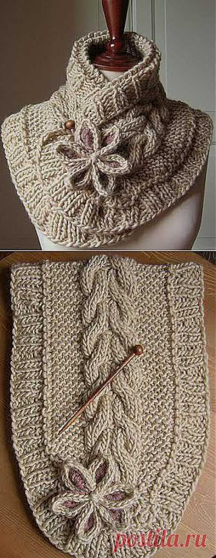 Очень красивый шарфик! | ЖЕНСКИЙ МИР