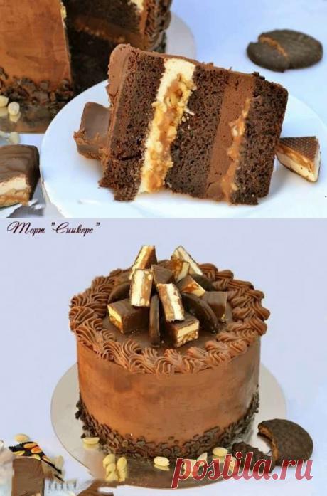 """""""Сникерс&quot cake;"""