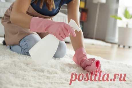 Как почистить ковер с помощью уксуса и пищевой соды и получить замечательный результат