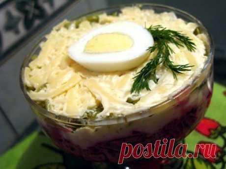 Как приготовить салат «простушка» - рецепт, ингредиенты и фотографии