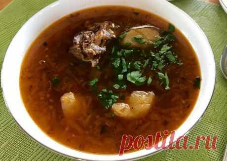 Шурпа с бараниной Автор рецепта @KiraCooks - Cookpad