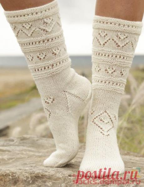 Вязаные носки «Bright Side»   ВЯЗАНЫЕ НОСКИ