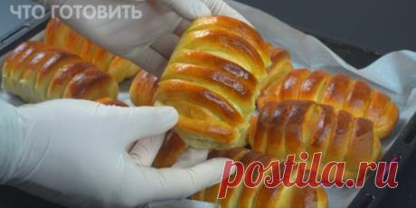 Самый простой рецепт булочек. Необычный способ приготовления   ЧТО ГОТОВИТЬ   Яндекс Дзен