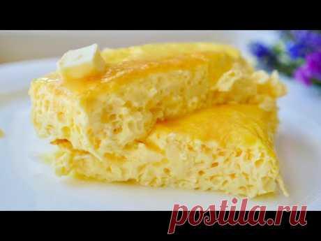 Пышный Омлет из 2-х ПРОДУКТОВ (как детстве) | Omelette Recipe