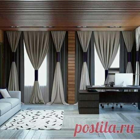 Идеи, как оригинально оформить окно текстилем — Мой милый дом