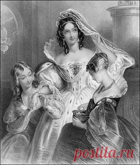 Подвенечное платье 19 века, или В чем выходили замуж наши прабабушки | Мода