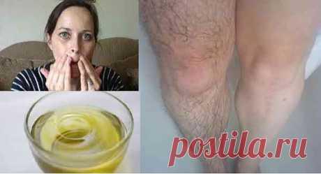 5-минутный массаж с этим маслом, и все нежелательные волосы исчезнут навсегда! - Стильные советы