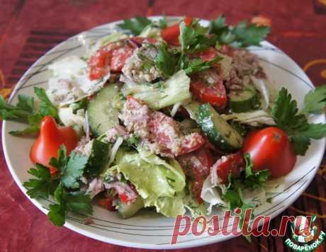 """Салат из свежих овощей """"Глехурад"""" – кулинарный рецепт"""
