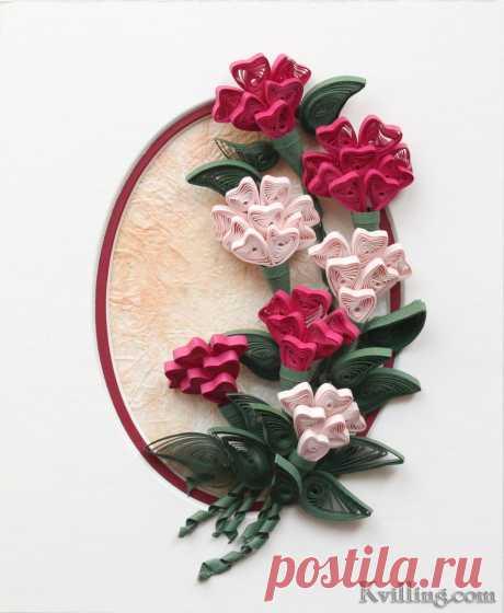 Красивые цветы в технике квиллинг. Как делать цветы в стиле квиллинг?