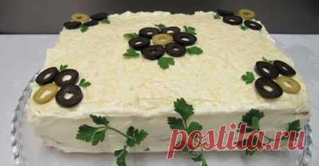 Закусочный торт «Сытый Гость» - Все для Вас!
