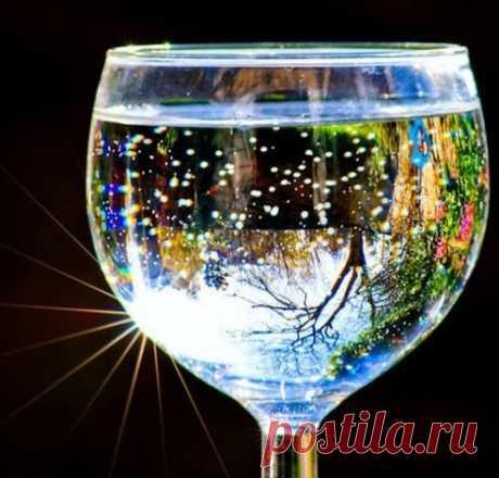 Техника «стакана воды» — все, что нужно, чтобы решить проблему! • Сияние Жизни