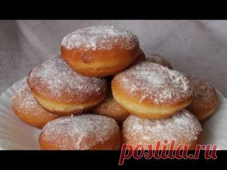 Пончики с кремом к завтраку или полднику