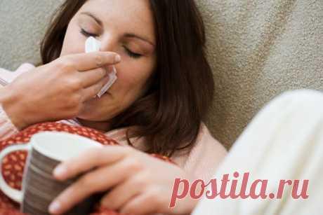 5 способов вылечить простуду за ночь — Полезные советы