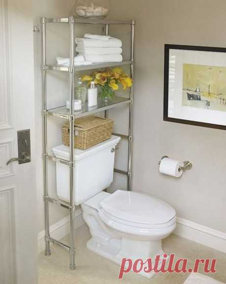 10 идей для маленькой ванной комнаты   Наши дома