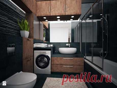 Стильный дизайн ванной комнаты.