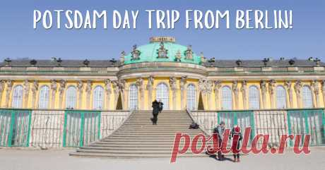 Potsdam Day Trip Guide: The Fairytale Town 40mins From Berlin Only 40 minutes away by train, this quaint and scenic town with majestic architecture makes Potsdam one of the most popular day trips from Berlin!