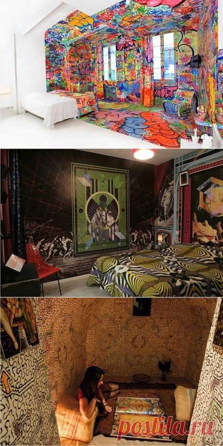 Интерьерный креатив отеля Au Vieux Panier / Городская среда (граффити, снеговики, ets) / Модный сайт о стильной переделке одежды и интерьера