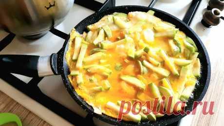 Полезное блюдо из кабачков: еще один способ приготовить вкусный завтрак | Кулинарные размышления | Яндекс Дзен