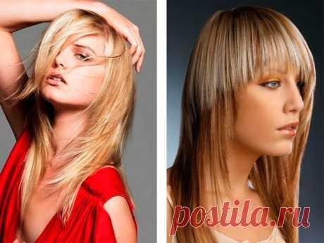 Стрижка для тонких волос с челкой (36 фото), каре на удлинение, прически на среднюю длину, фото и видео