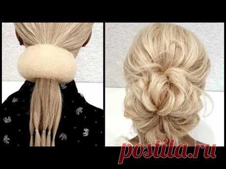 Простая и Быстрая прическа.Красивые Прически пошагово.Simple and Fast Hairstyle.BEAUTIFUL HAIRSTYLES