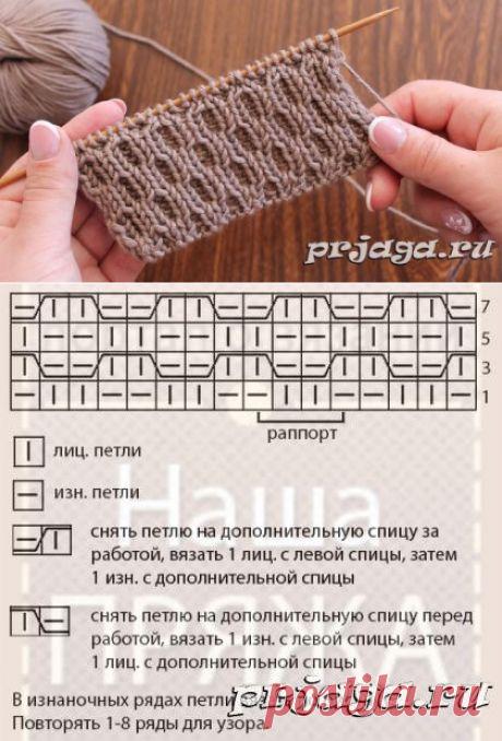 Еще одна подборка узоров спицами | Повязушки лайф | Яндекс Дзен