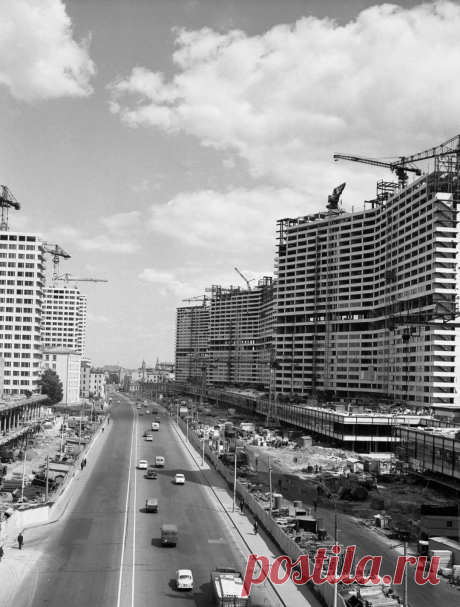 Москва 1960-х на фотографиях Марка Степановича Редькина